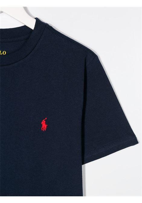 T-shirt blu RALPH LAUREN | T-SHIRT | 323674984003