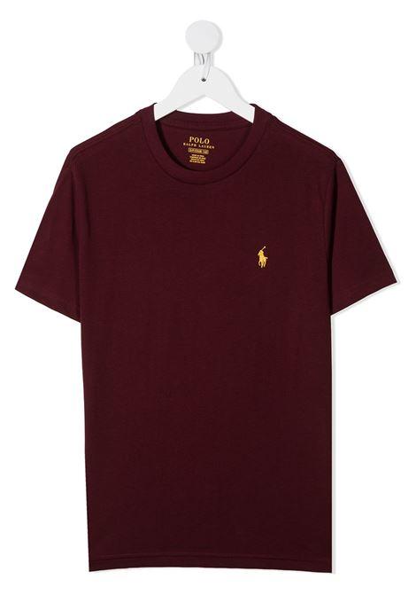 T-shirt rossa RALPH LAUREN | T-SHIRT | 323703638036