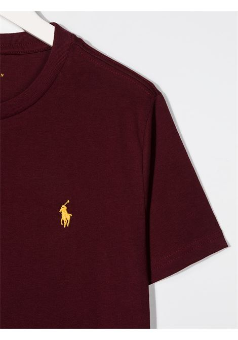 T-shirt rossa POLO RALPH LAUREN | T-SHIRT | 323703638036