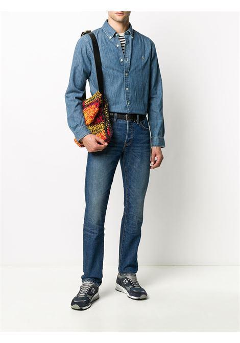 Camicia blu jeans RALPH LAUREN | CAMICIE | 710548539001