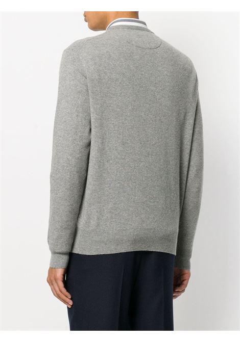 Maglione grigio RALPH LAUREN | MAGLIONE | 710667378002