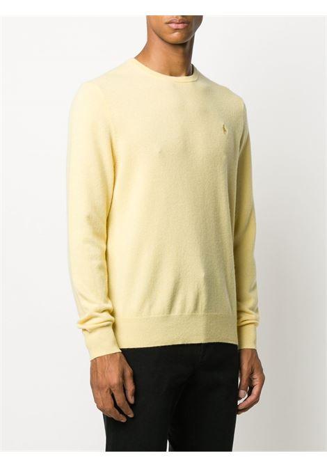 Maglia giallo pastello RALPH LAUREN | MAGLIONE | 710667378023