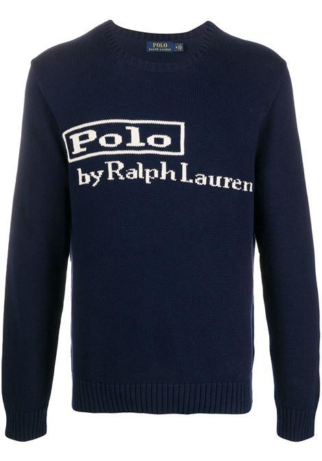Maglione blu RALPH LAUREN | MAGLIONE | 710810847001
