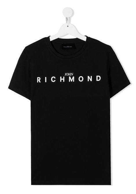T-shirt nera RICHMOND | T-SHIRT | RBA20001TSFXTBLACK