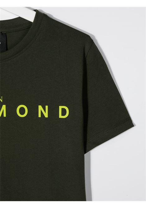 T-shirt verde RICHMOND | T-SHIRT | RBA20001TSFXTGREENMIL