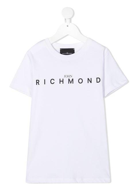 T-shirt bianca RICHMOND | T-SHIRT | RBA20001TSFXWHITE
