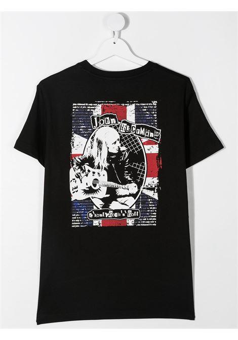 T-shirt nera RICHMOND | T-SHIRT | RBA20089TSHATBLACK