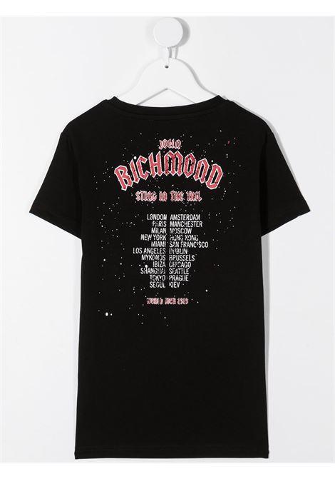 T-shirt nera RICHMOND | T-SHIRT | RBA20147TSJNBLACK