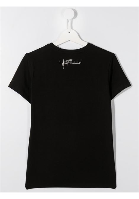 Black t-shirt RICHMOND | T-SHIRT | RGA20001TST5TBLACK
