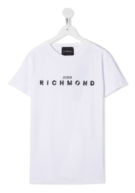 White t-shirt RICHMOND | T-SHIRT | RGA20001TST5TWHITE