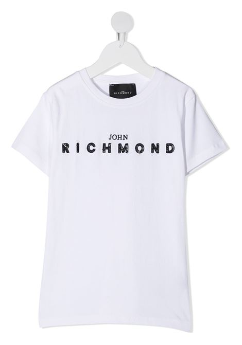 White t-shirt RICHMOND | T-SHIRT | RGA20001TST5WHITEBLK