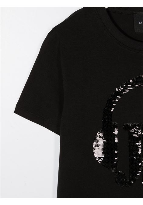 Black t-shirt RICHMOND | T-SHIRT | RGA20005TSHATBLACK