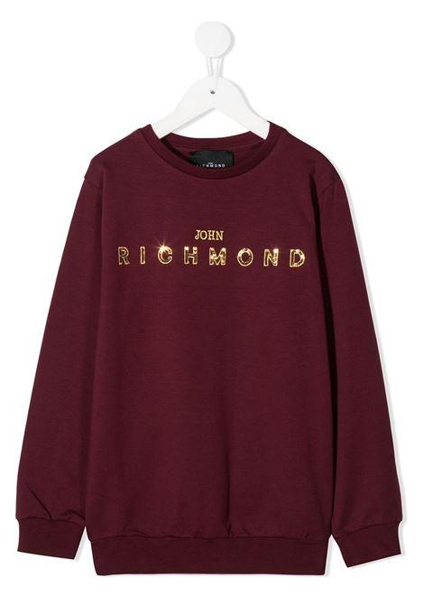 Maglione rosso RICHMOND | FELPE | RGA20007FET5AMARANTBR