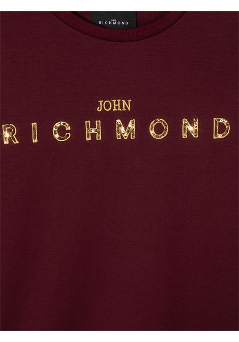 Maglione rosso RICHMOND | FELPE | RGA20007FET5TAMARANTO