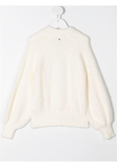 Maglione bianco RICHMOND | MAGLIE | RGA20041MAGDOWG
