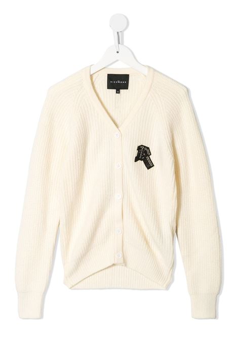 White cardigan RICHMOND | CARDIGAN | RGA20261CDGDOFFWHITE