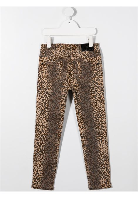 Leopard jeans RICHMOND | TROUSERS | RGA20322PAFELEOPARD