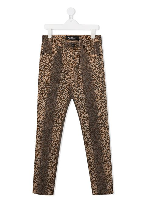 Leopard jeans RICHMOND | TROUSERS | RGA20322PAFETLEOPARD
