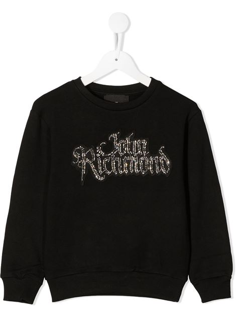 Black sweatshirt RICHMOND | SWEATSHIRTS | RGA20323FEXXBLACK