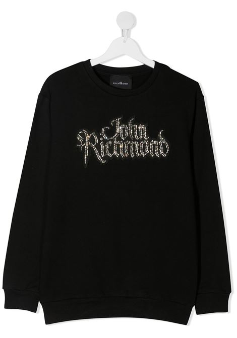Black sweatshirt RICHMOND | JERSEYS | RGA20323FEXXTBLACK