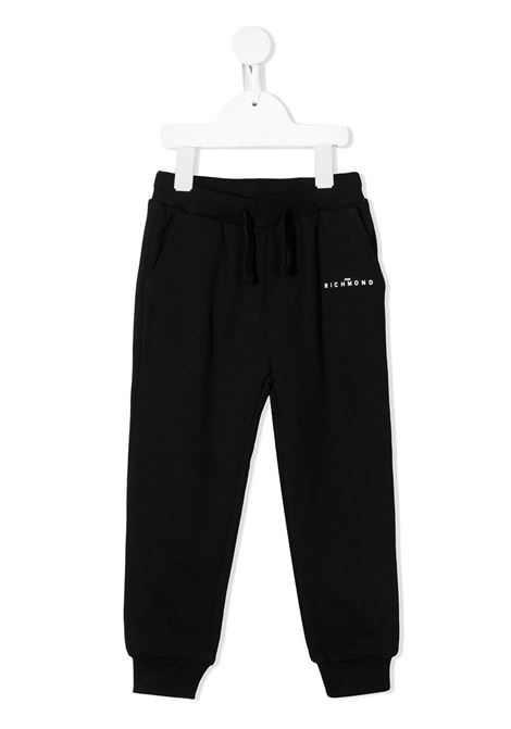 Pantalone nero RICHMOND | PANTALONI | RIA20001PAFXBBLACK