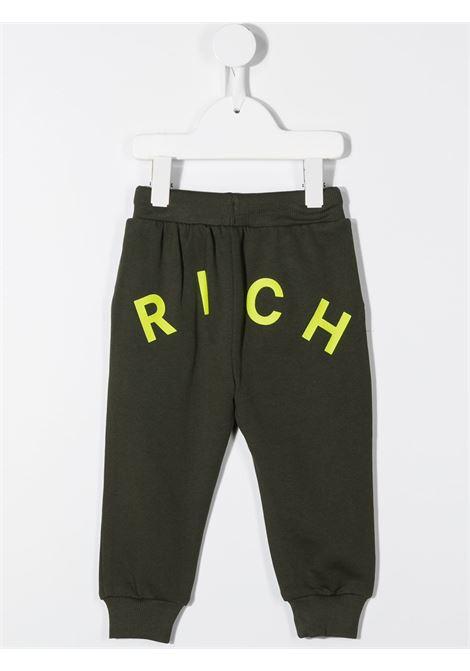 Pantalone verde RICHMOND | PANTALONI | RIA20001PAFXGREENMIL