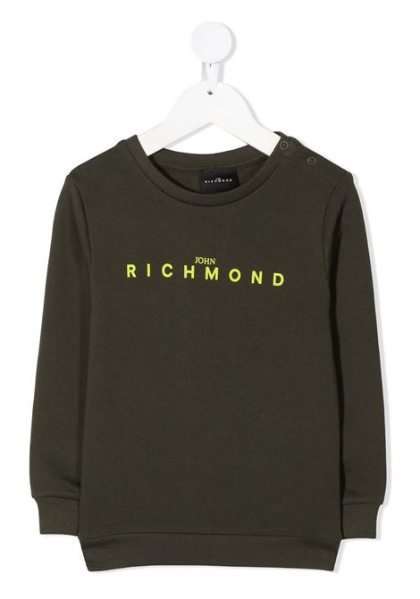 Green sweatshirt RICHMOND | SWEATSHIRTS | RIA20011FEFXBGREENMIL