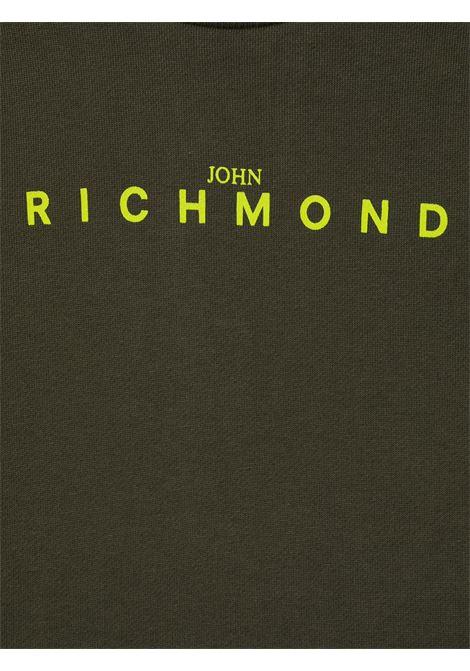 Felpa verde RICHMOND | MAGLIE | RIA20011FEFXBGREENMIL