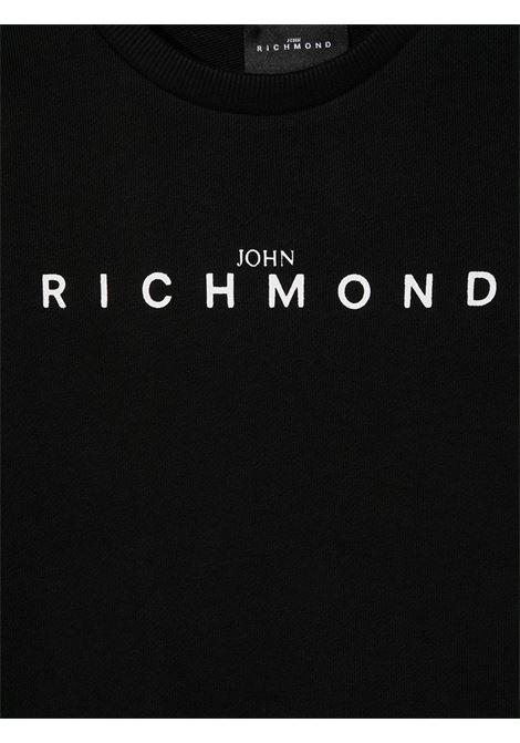 Black sweatshirt RICHMOND | SWEATSHIRTS | RIA20011FEFXBLACK