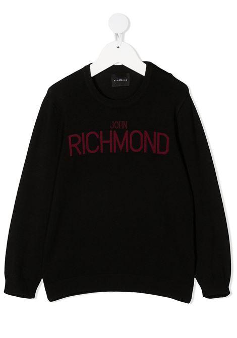Black jumper RICHMOND | JERSEYS | RIA20070MACHBBLACK