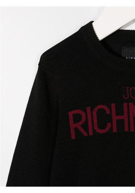 Black jumper RICHMOND | JERSEYS | RIA20070MACHBLACK