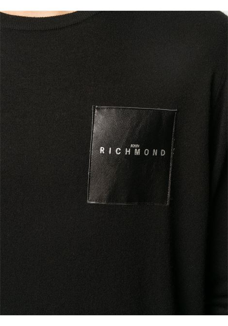 Maglione nero RICHMOND | MAGLIE | RMA20042MAGDBLACK