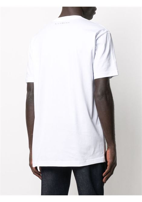 White t-shirt RICHMOND | T-SHIRT | RMA20073TSA8WHITE