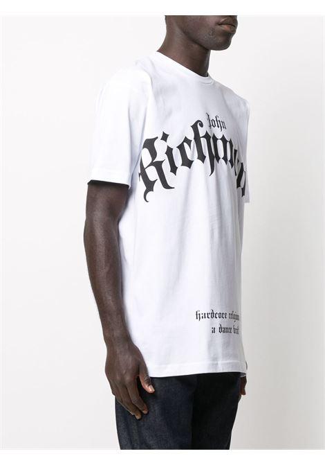 T-shirt bianca RICHMOND | T-SHIRT | RMA20073TSA8WHITE
