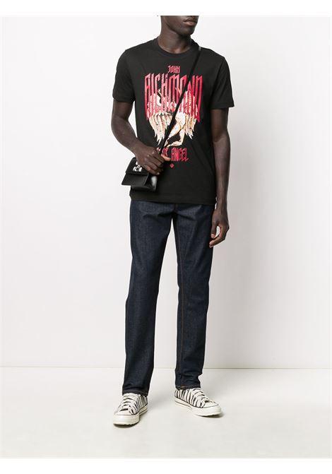 T-shirt nera RICHMOND | T-SHIRT | RMA20096TSA9BLACK