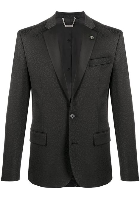 Black jacket RICHMOND | JACKETS | RMA20208GCFSLBLK
