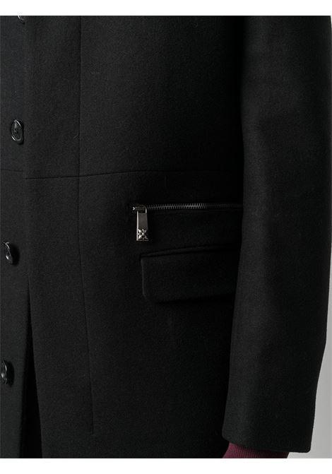 Cappotto nero RICHMOND | CAPPOTTI | RMA20213CPFSBLACK