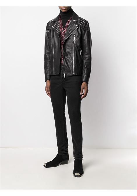 Black jacket RICHMOND | JACKETS | RMA20241GBFABLACK