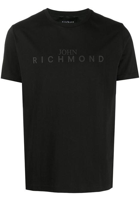 T-shirt nera RICHMOND | T-SHIRT | RMA20339TSHBBLACK