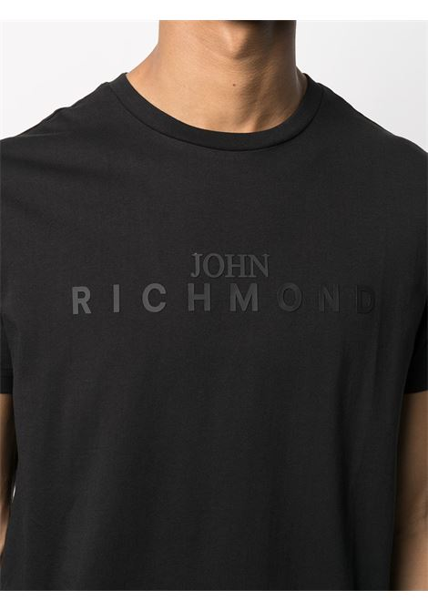 Black t-shirt RICHMOND | T-SHIRT | RMA20339TSHBBLACK