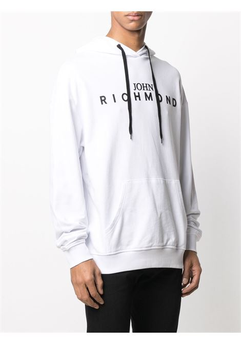 White sweatshirt RICHMOND | SWEATSHIRTS | RMA20342FEHBWHITE