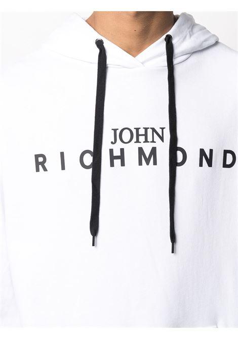 Felpa bianca RICHMOND | FELPE | RMA20342FEHBWHITE