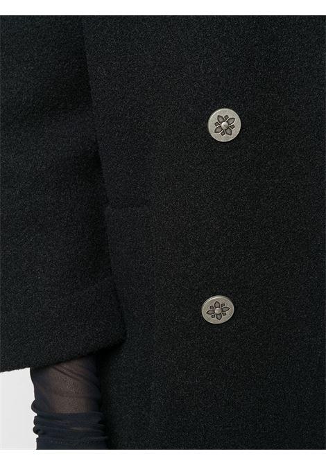 Cappotto nero RICHMOND | CAPPOTTI | RWA20113CPHBBLACK