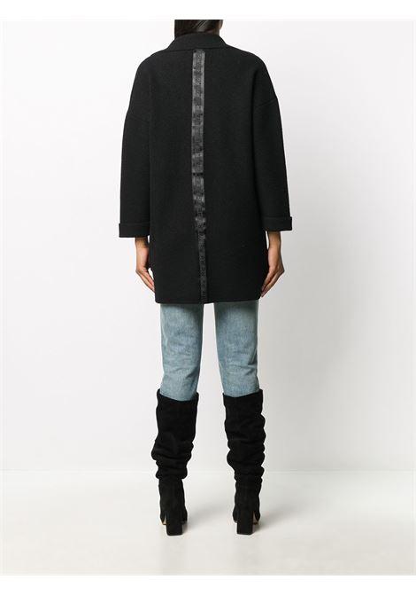 Black coat RICHMOND | COAT | RWA20113CPHBBLACK