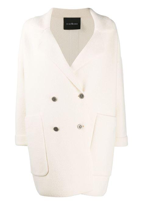 Cappotto bianco RICHMOND | CAPPOTTI | RWA20113CPHBMILK