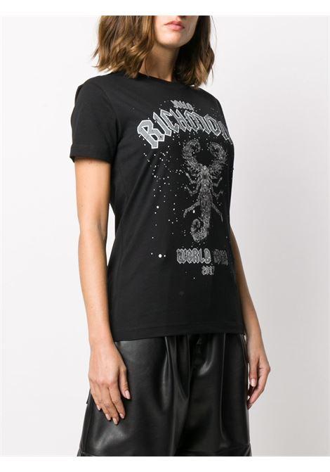 Black t-shirt RICHMOND | T-SHIRT | RWA20171TSA9BLACK