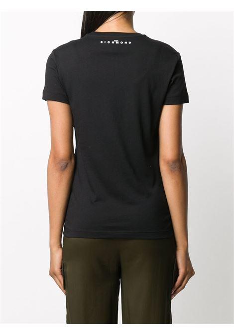 Black t-shirt RICHMOND | T-SHIRT | RWA20175TSA9BLACK