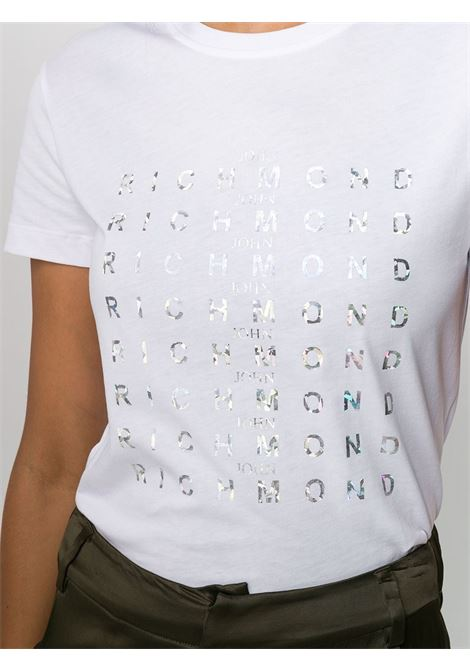 White t-shirt RICHMOND | T-SHIRT | RWA20175TSA9WHITE