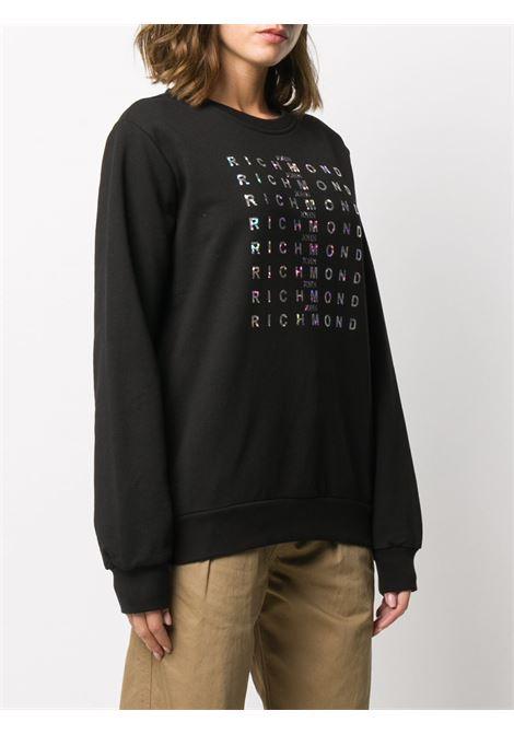 Black sweatshirt RICHMOND | SWEATSHIRTS | RWA20187FEA9BLACK