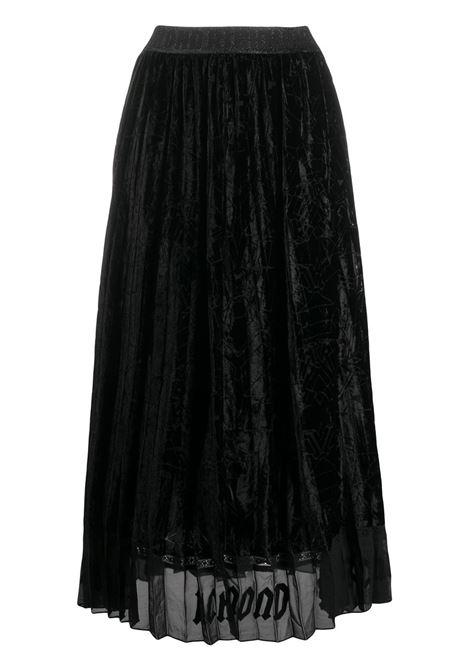 Black skirt RICHMOND | SKIRTS | RWA20213GOHBSPACEJR